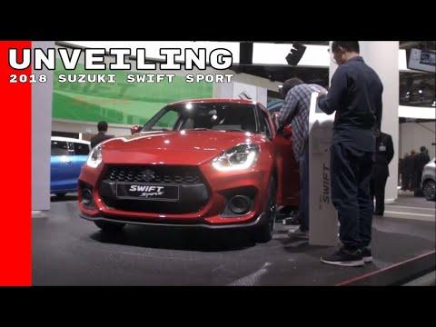 2018 Suzuki Swift Sport Unveiling