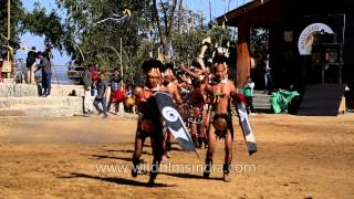 Phom Naga warrior dance
