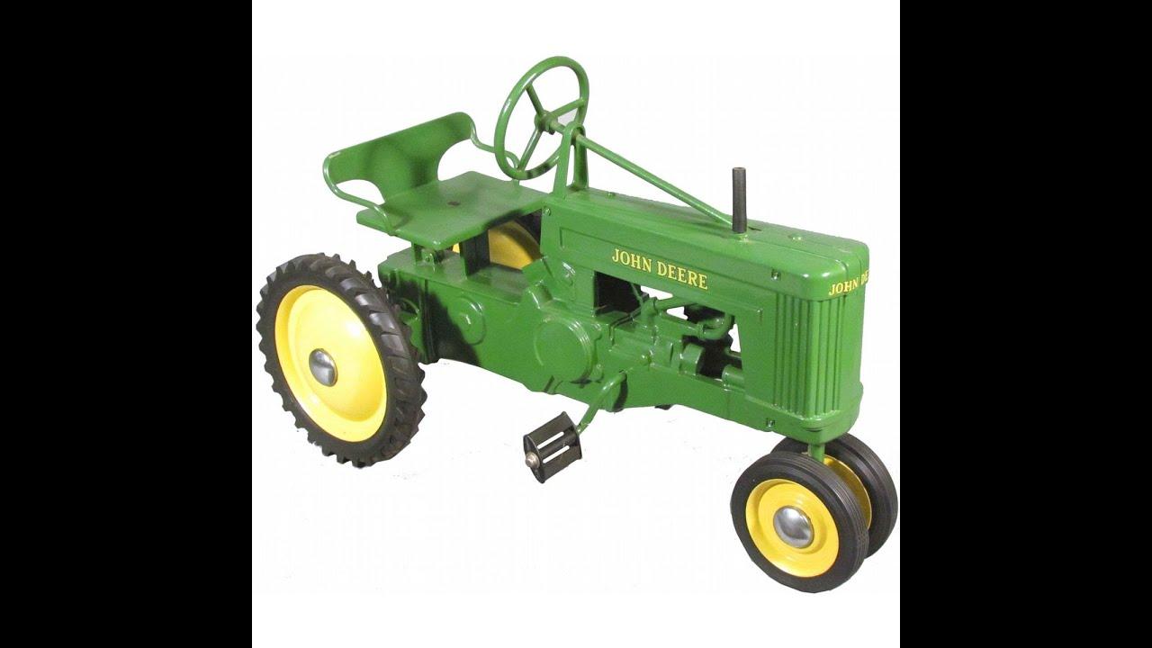 john deere tracteurs pdales tracteurs jouets pour les enfants youtube