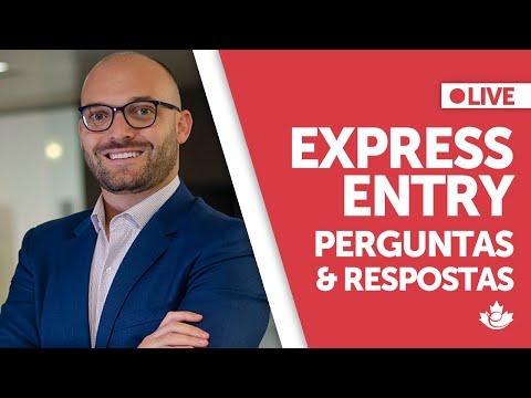 LIVE: Express Entry - Perguntas e Respostas