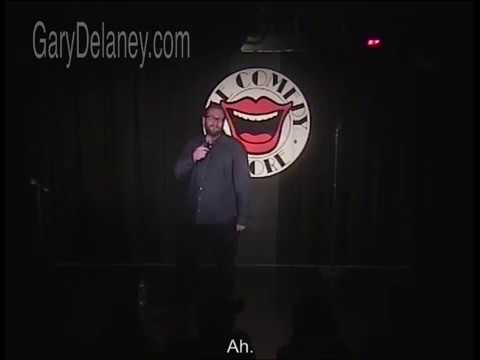 Nineteen Minutes Of One Liners From Gary Delaney At The Comedy Store. (subtitled)