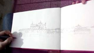 Drawing Mosque-Cathedral-Cordoba-Spain_2/4.MPG