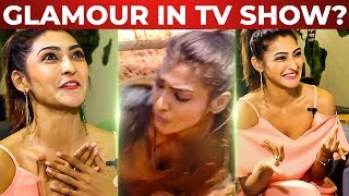 """Vijay Tv forces us to be Glamourous?"" 