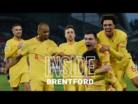Inside Brentford: Brentford 3-3 Liverpool |  The best of the visiting finale when Salah reaches 100