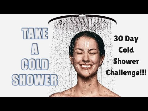 30 Day Cold Shower Challenge   IMPROVE Hair and Skin   KaliFab