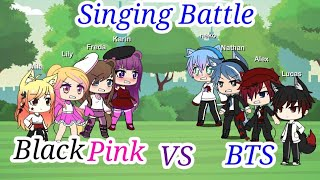 Singing Battle| BlackPink Lovers VS BTS Lovers| Part 1