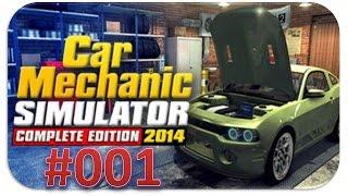 Car Mechanic Simulator 2014 - Episode 001 [HD] - Let's Play Car Mechanic Simulator 2014
