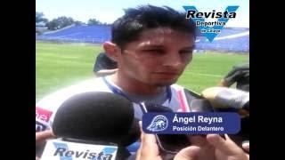 Presentación de Ángel Reyna club Celaya fc.