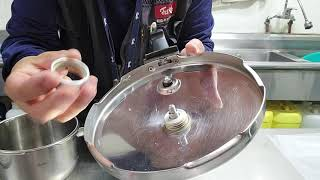 휘슬러 신 2,5리터 압력밥솥 부품 교체와 점검 방법