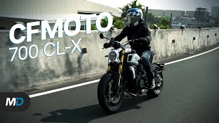 Download CFMOTO 700 CL-X Heritage Review - Beyond the Ride