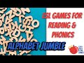 Alphabet Jumble - Easy ESL Games Video for English Teachers