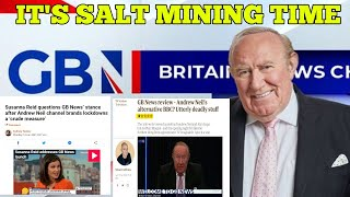 GB News Launch Tops Viewing Charts & Sends Salty MSM & Twitter Tosspots Into Complete Meltdowns