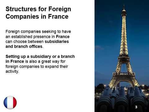Subsidiary Vs. Branch in France
