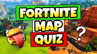 Fortnite Map Quiz - I CHALLENGE YOU!