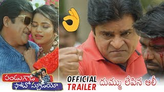 Pandu Gadi Photo Studio Official Trailer Ali New Telugu Movie 2019 Daily Culture