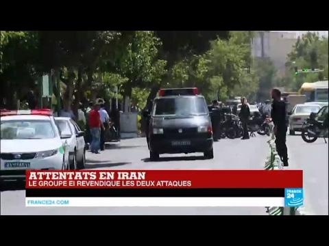URGENT - Le groupe État islamique revendique les 2 attentats à Téhéran IRAN