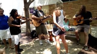 Jam Session in Roosevelt Center, Greenbelt, Maryland, July 26, 2015