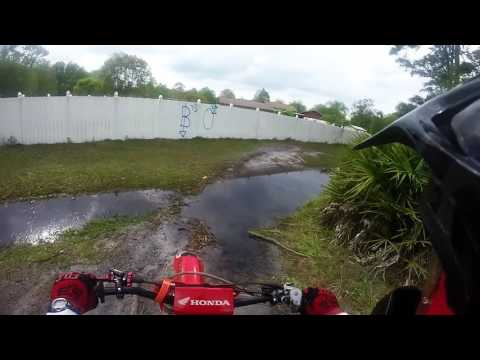 Poinciana FL flooded trails