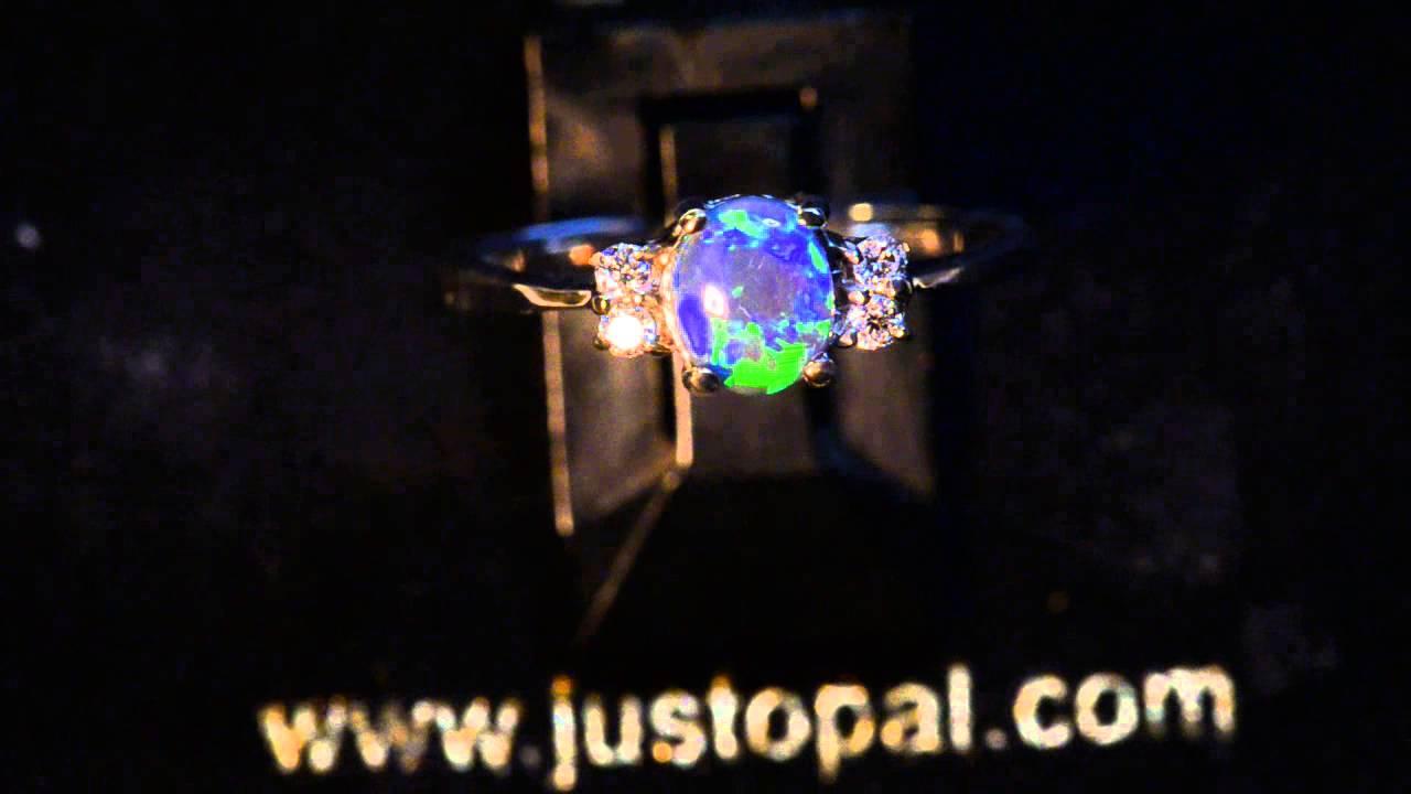 Black Diamond Engagement Rings Australia