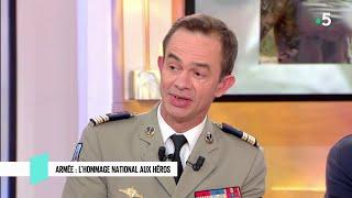 Armée : l'hommage national aux héros - C l'hebdo - 18/05/2019
