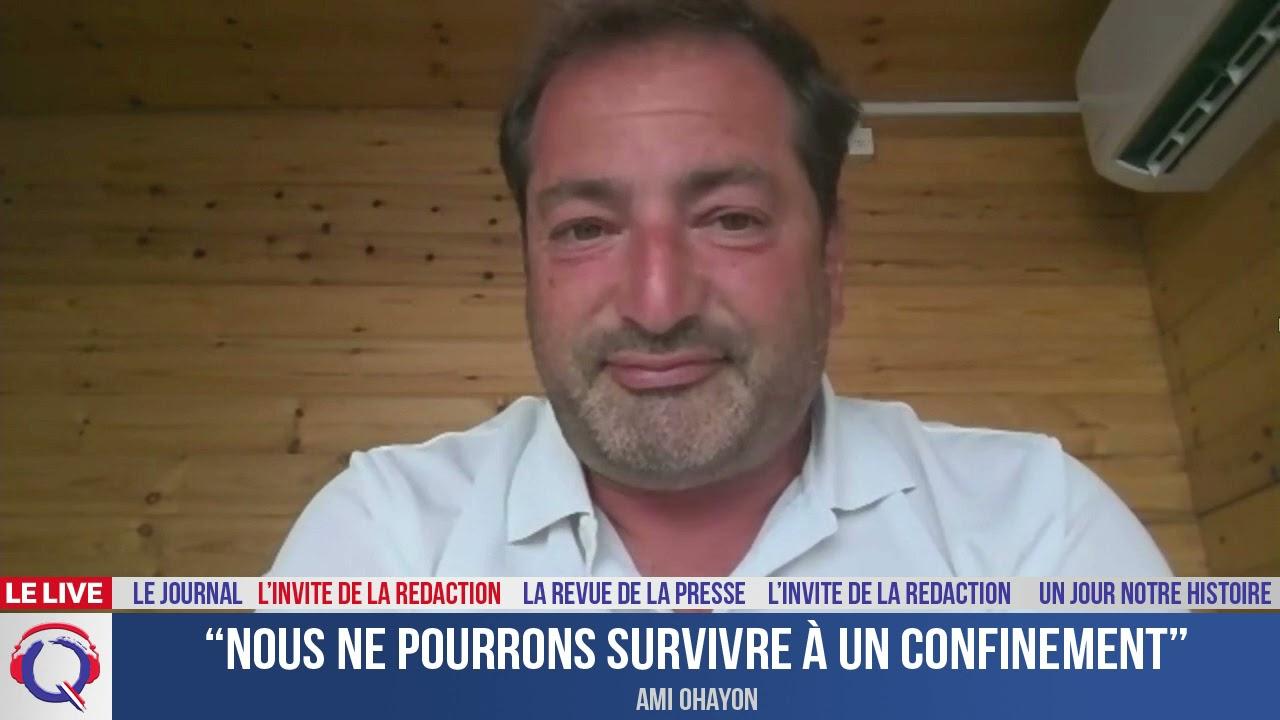 """""""Nous ne pourrons survivre à un confinement"""" - L'invité du 19 aout 2021"""