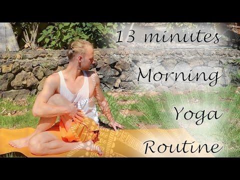 15 Minuten Morning-Yoga (deutsch)