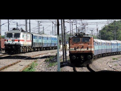 [3 in 1] : Jhelum + Kerala + Madurai Chandigarh Express MPS Platform Skip || Indian Railways