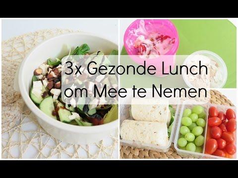 3x Gezonde Lunch: