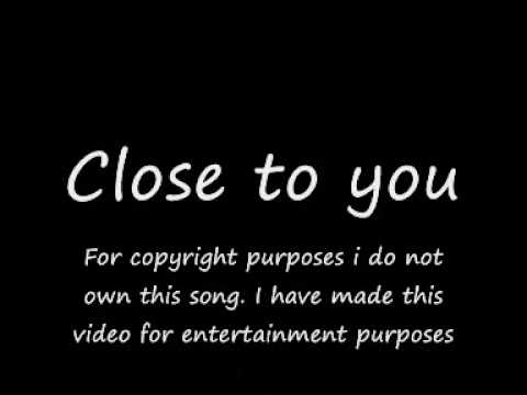 Close to you - Sam Milby with lyrics