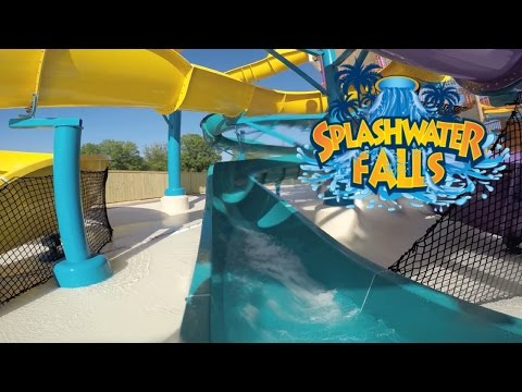 Six Flags America NEW Splashwater Falls Hurricane Harbor Water Park
