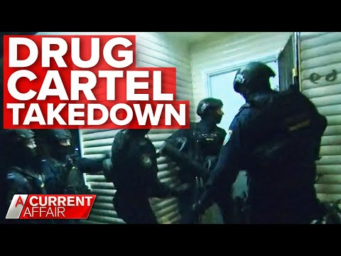 Inside secret police operation to topple Australian drug syndicate | A Current Affair