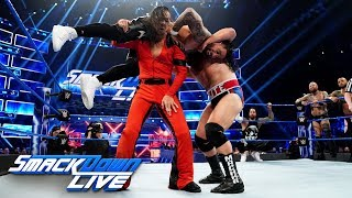 The Usos & Ricochet & Black vs. The Bar & Rusev & Nakamura: SmackDown LIVE, Apr. 2, 2019