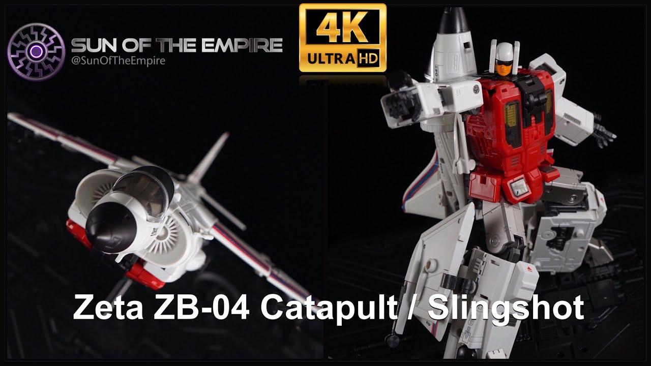 New New Transformers Toys Zeta ZB-04 Catapult G1 Superion Slingshot in Stock