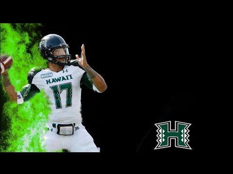 College football highlights UNIVERSITY OF HAWAII//HIGHLIGHTS