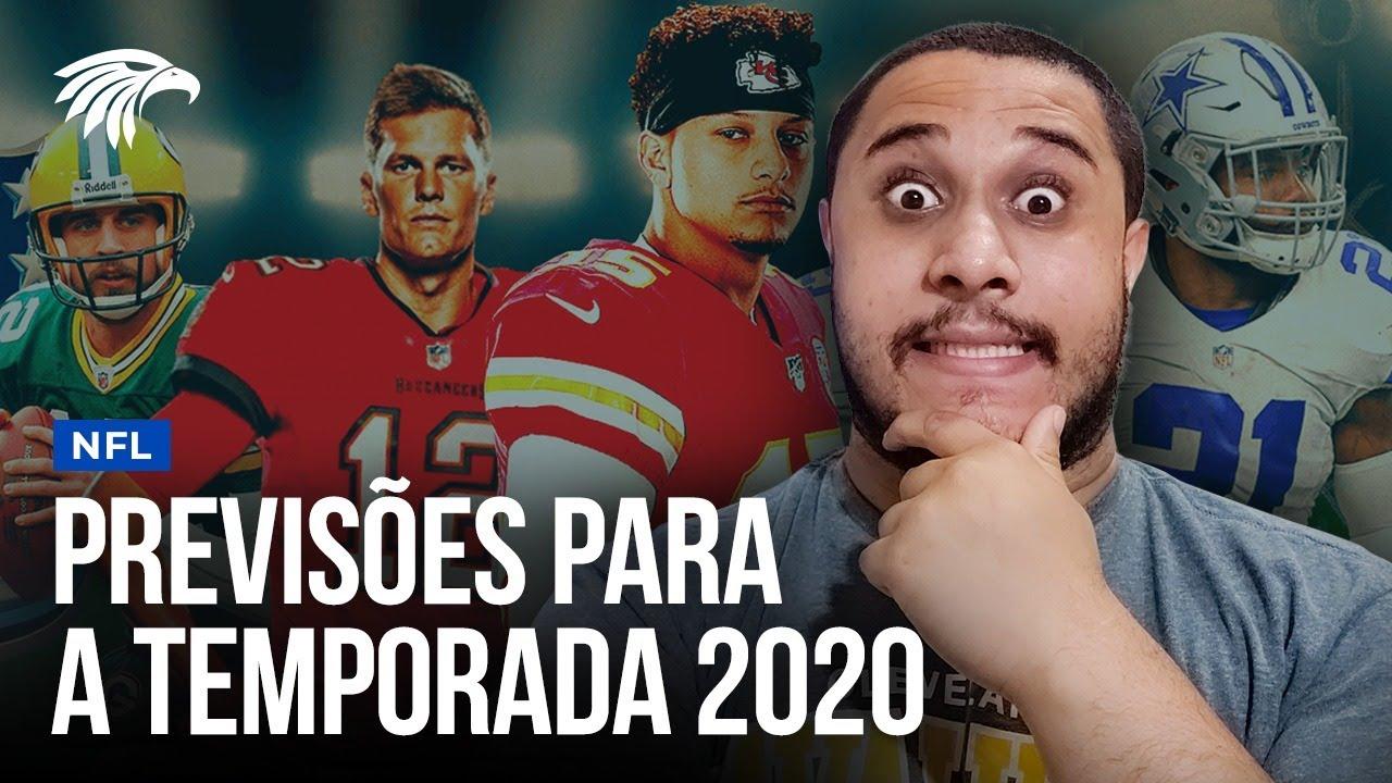 APOSTAS PARA A TEMPORADA 2020 DA NFL