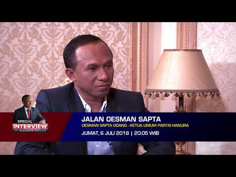 Special Interview with Claudius Boekan: Jalan Oesman Sapta Odang