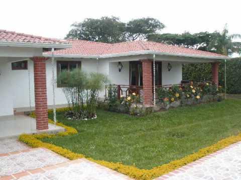 Venta casa campestre jamundi colombia youtube for Fachadas de casas campestres