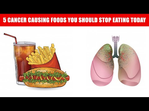 Believe it or not This Top 5 Cancer Causing Foods You Should Stop Eating Today   Cancer food list