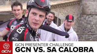 GCN Sa Calobra Presenter Challenge - Who Is The Best Climber?