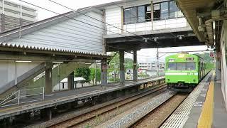 平城山奈良線103系到着簡易放送 thumbnail