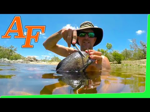 Overnight Trip Charcoal Grill Banana Leaf Fish Catch And Cook EP.425