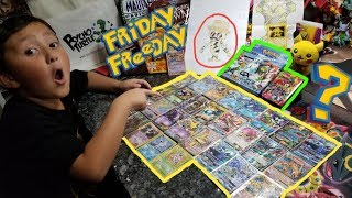 NEW NEVER BEFORE SEEN POKEMON CARDS!! FAKE?! TONS OF RARE SUPRISES & FANMAIL! FRIDAY FREEDAY! #53