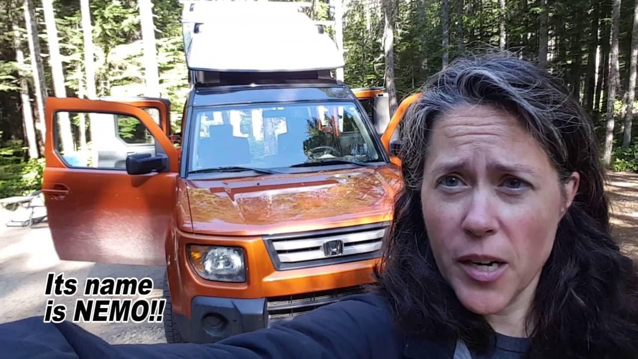 2016 Honda Element >> Honda Element camper conversion: Nemo - YouTube