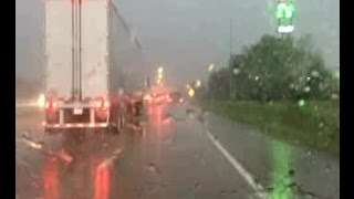 Storm video from austintown