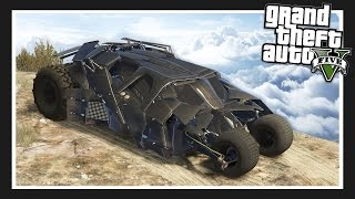 ULTIMATE BATMAN CAR!! The