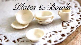 Bowls & Plates ~ Polymer Clay Tutorial