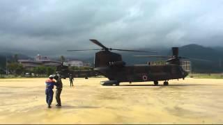【陸上自衛隊】エンジン点火から離陸までノーカット!【CH-47JA】