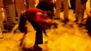 roda capoeira en la catedral de albacete