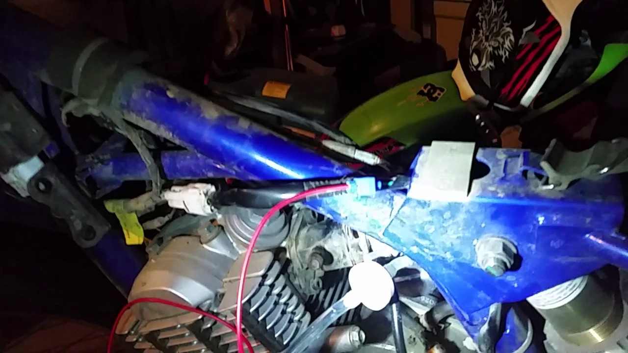 hight resolution of how to wire a headlight to a dirt bike magneto yamaha ttr125