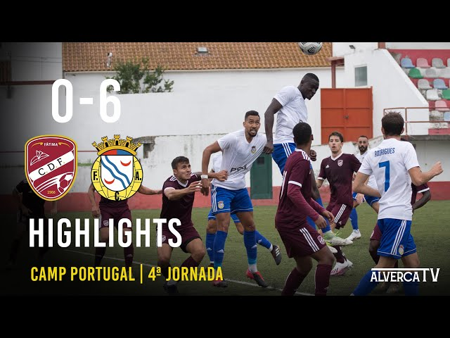 Fátima SAD 0-6 FC Alverca Highlights